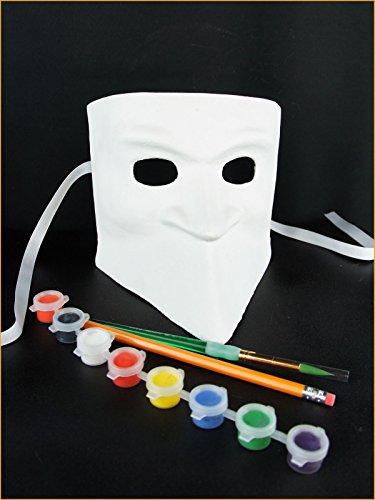 DIY Kit - Casanova Mask Bauta - Venetian Casanova Costume