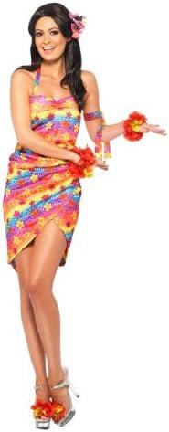 Smiffys - Disfraz de hawaiana para mujer, talla M (24581M ...