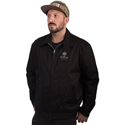 Mens-Steady-Clothing-Racing-Rebels-Jacket-Black