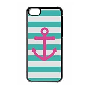 iPhone 5C Phone Cases Black Anchor Quotes MN3395913