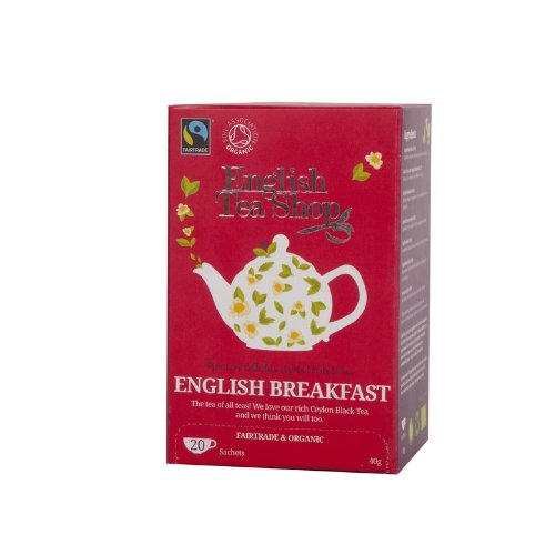 English Tea Shop - English Breakfast, BIO Fairtrade, 20 Teebeutel