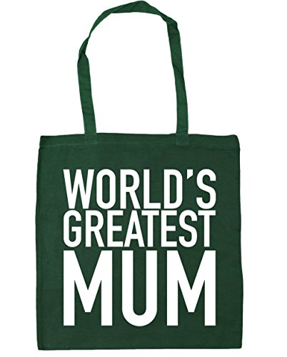 Gym 10 litres greatest Green Bag Shopping HippoWarehouse 42cm Bottle Beach World's mum Tote x38cm Rnv5PXA
