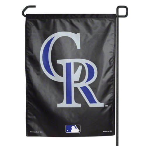 (MLB Colorado Rockies Garden Flag)