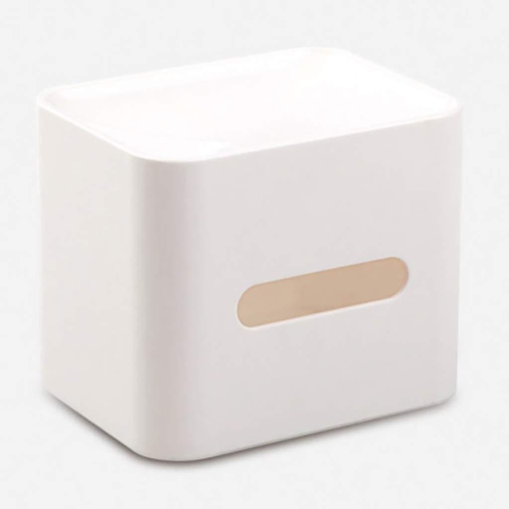 MAHONGQING Creative Living Room Napkin Box Home Napkin Carton European Minimalist Multi-Functional Cardboard Box Cardboard Box (Color : A)