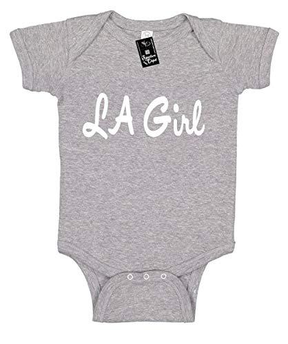 Signature Depot Infant Funny Baby Onesie Unisex T-Shirt Size 18 (LA Girl (Los Angeles) Bodysuit