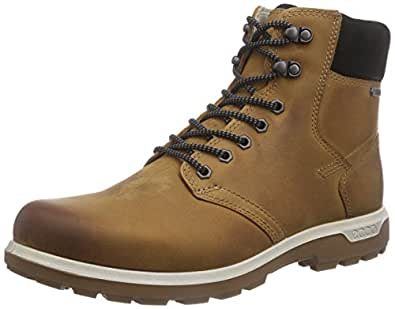 ECCO Men's Whistler GTX High Boot, Amber, 40 EU/6-6.5 M US