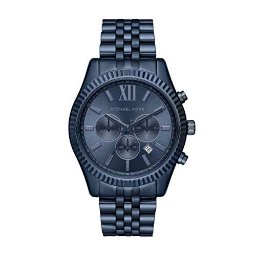 affordable Michael Kors Men's Lexington Blue Watch MK8480
