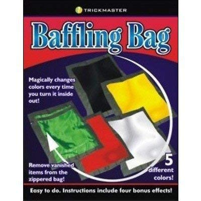 SUMAG Baffling Bag Magic Tricks for Magicians Color Change Bag Magic Prop: Kitchen & Dining