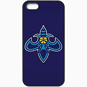 Personalized Case For Iphone 4/4S Cover Cell phone Skin Nba New Orleans Hornets 4 Sport Black