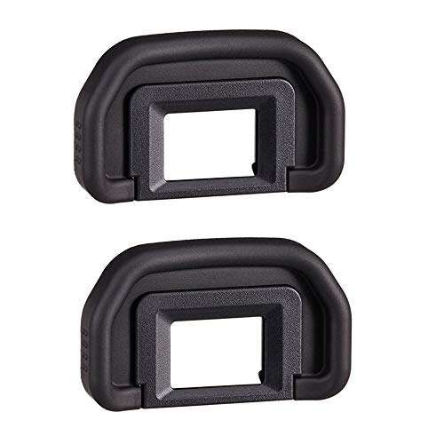 Fire Rock Viewfinder Eyepiece Eyecup Eye Cup for Canon EOS 5D Mark II/40D/5D/50D /5D2/5DM2/6D/60D/60Da/70D/80D Replace Eyepiece EB(2 Packs)