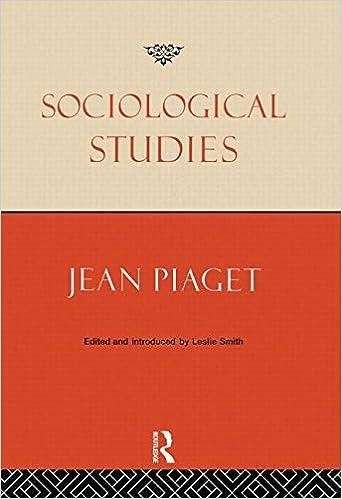 Book Sociological Studies