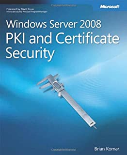 Windows Server® 2008 PKI and Certificate Security (PRO-Other) (0735625166) | Amazon price tracker / tracking, Amazon price history charts, Amazon price watches, Amazon price drop alerts