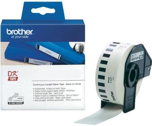 Endlosrolle 29mm P-Touch QL 700 Brother Etiketten 29 mm x 30, 48 meter, Papier, 1 Endlosetikett, DK Label für Ptouch QL700, QL-700
