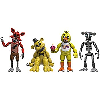 Funko Five Nights at Freddy's 4 Figure Pack(1 Set), 2""
