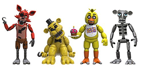 Animatronics - Funko Five Nights at Freddy's 4 Figure Pack(1 Set), 2
