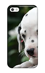 Iphone 5/5s Case Slim [ultra Fit] Dalmatian Protective Case Cover