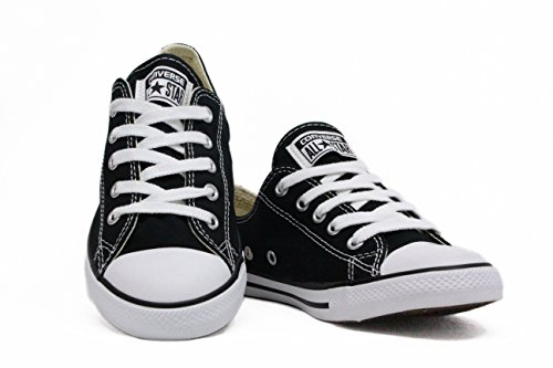 CT AS DAINTY BLACK CONVERSE OX 5cczWby
