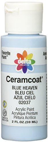 Delta Creative Ceramcoat Acrylic Paint in Assorted Colors (2 Ounce), 02037 Blue Heaven