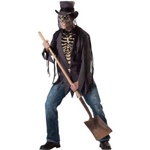 [Grave Robber Adult Costume - Large] (Adult Grave Reaper Costumes)