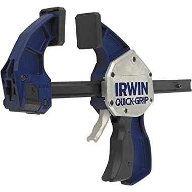 IRWIN QUICK-GRIP One-Handed Bar Clamp/Spreader XP600, 12 , 2021412N