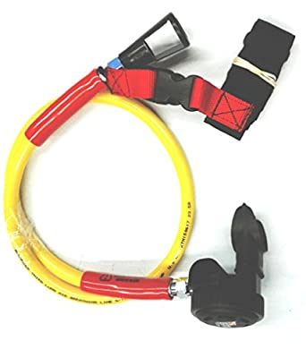 Brownie's Third Lung Hookah Second Stage Regulator With 40 Inch Hose & Belt Hookah Diving