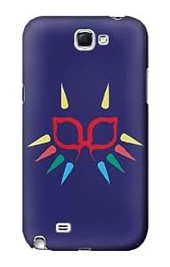S1358 Majora Mask Minimalist Zelda Case Cover For Samsung Galaxy Note 2