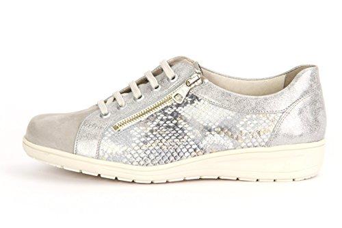 femme pour lacets Gris de Kate Solidus Chaussures à ville Ywq0n4P1