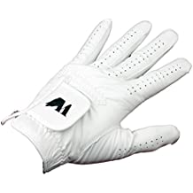 Turnberry Golf Glove White Leather Mens Right Hand XX-Large