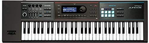 Roland JUNO-DS61 61-key Synthesizer with Gigbag RAM-4879 Bundle includes Free Wireless Earbuds – Stereo Bluetooth In-ear and 1 Year Everything Music Extended Warranty