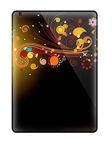 Pretty WmLlSiY4892wNinU Ipad Air Case Cover/ Cgi Flowers Colors Abstract Colors Series High Quality Case