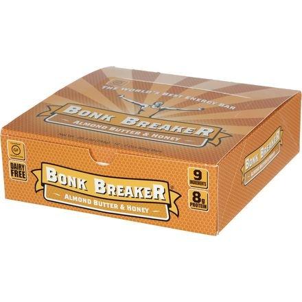 Bonk Breaker Energy Bars Energy Bar Almond Butter & Honey, Individual Bar - Men's