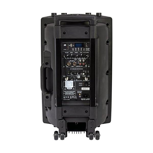 Ibiza PORT12VHF-BT Sonorisation portable 12'' USB/SD/AUX/MP3/Bluetooth Noir 3
