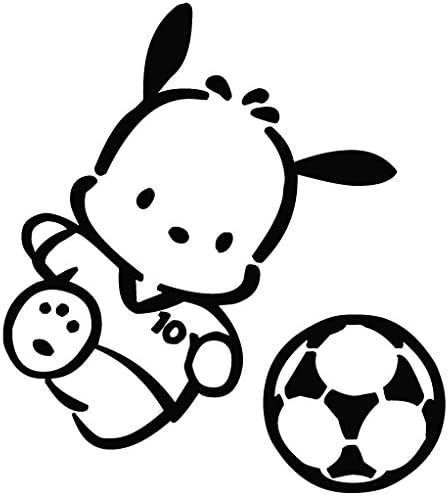 De fútbol Pochacco - Carcasa de Vinilo [15 cm negro] extraíble de ...
