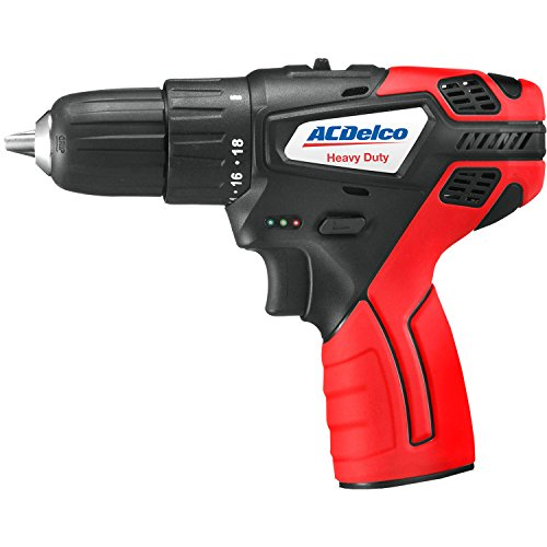 ACDelco ARD12119T Cordless G12 Series Li-ion 12V MAX. 2-speed Drill/Driver (Tool Only) - 12v 2 Speed Reversible Drill