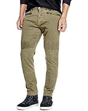 Men's Carter Slim-Fit Biker Pants