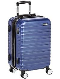 AmazonBasics - Equipaje con candado TSA integrado, color azul