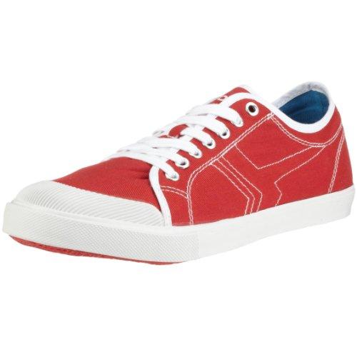 Esprit Boras 3421, Unisexe - Rouge Sneaker Adulte (chili / White1027)