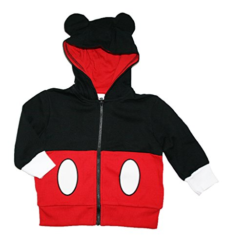 Disney Mickey Mouse Little Boys Costume Hoodie (2T)