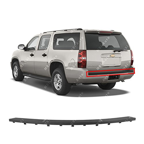 MBI AUTO Textured, Black Rear Bumper Step Pad for 2007-2014 Chevy Suburban 1500, Tahoe & GMC Yukon 07-14, GM1191130 (Pad Suburban Step Bumper)