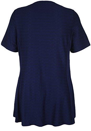 seeyou - Camisas - Básico - Manga corta - para mujer azul marino