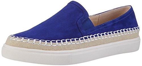 Buffalo London 15bu0229 Suede, Mocasines para Mujer Azul (Blue)