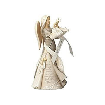 Foundations Angel in Your Life Stone Resin Figurine, 9.25