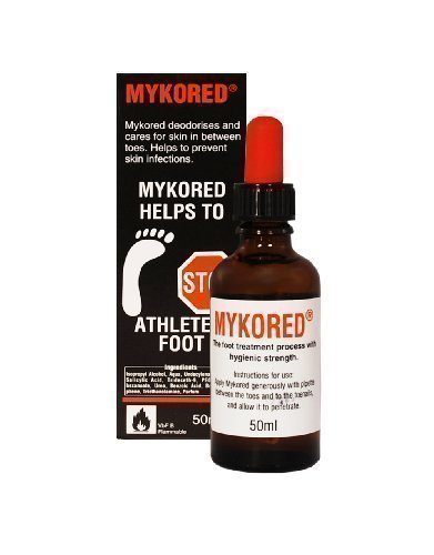 Mykored Lösung, Schutz vor Fußpilz u. Nagelpilz, Pipettenflasche, 50ml