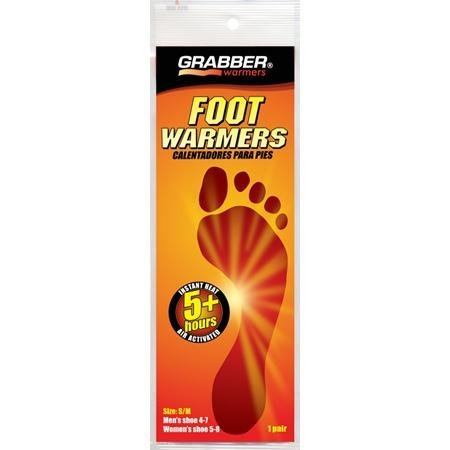 Grabber FWMLES3 Foot Warmer (3 Pair/Pack)