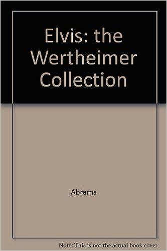 elvis the wertheimer collection 1997 calendar