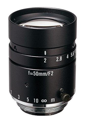 Kowa LM50JC 2/3'' 50mm F2.0 Manual Iris C-Mount Lens