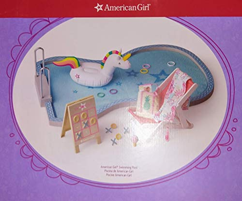 American Girl Swimming Pool for Dolls (Doll not Included) ()