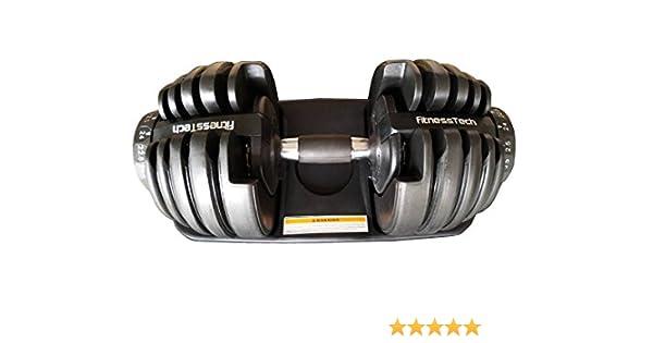 Pesas ajustables de FitnessTech, hasta 24 kg. Eficientes y ocupan ...