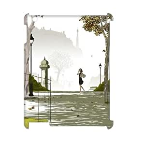 Custom iPad2,3,4 Case, Zyoux DIY New Fashion 3D iPad2,3,4 Cover Case - Nature