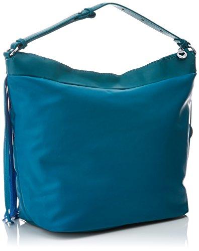 Azul blue Bl5319 Bolso Mujer Casademunt Cm Lola Flecos w 17x34x43 X Para L H Con 1qTFwnx6S